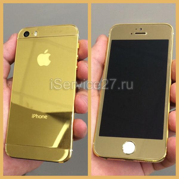 Замена корпуса на айфон 5s